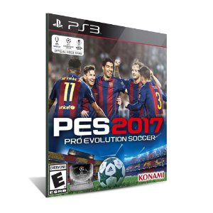 PES 2017 - PS3 - MÍDIA DIGITAL-