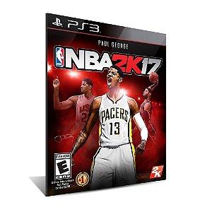 NBA 2K17 -Mídia Digital - Playstation 3