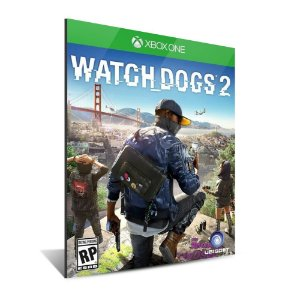 WATCH DOGS 2 - Mídia Digital - XBOX ONE