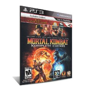 Mortal Kombat Komplete Edition - Mídia Digital - Playstation 3