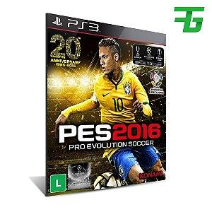 Pro Evolution Soccer 2016 - Mídia Digital - Playstation 3