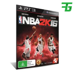 Nba 2k16 - Mídia Digital - Playstation 3