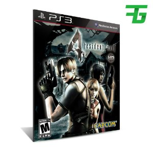 Resident Evil 4 - Mídia Digital - Playstation 3