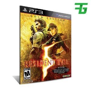 resident evil 5 gold edition - Mídia Digital - Playstation 3
