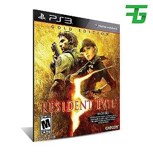 resident evil 5 gold edition - Mídia Digital - Playstation 3