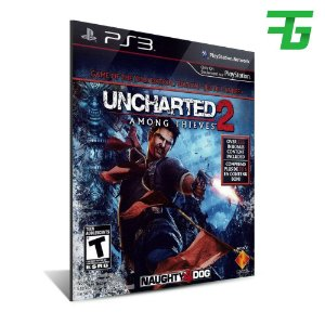 Ps3 Uncharted 2 Among Thieves Goty Edition - Mídia Digital - Playstation 3