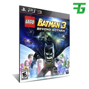 Lego Batman 3 Beyond Gotham - Mídia Digital - Playstation 3
