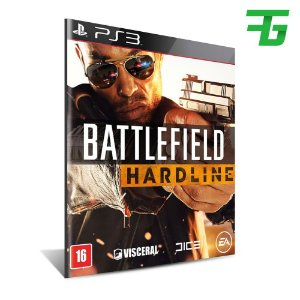 Battlefield Hardline  - Mídia Digital - Playstation 3