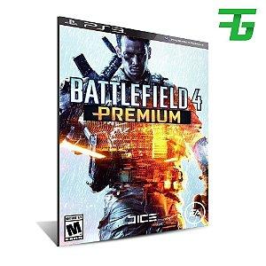 Dlc Premium - Battlefield 4 - Mídia Digital - Playstations 3