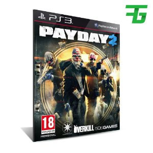 Payday 2 - Mídia Digital - Playstation 3