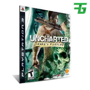 Uncharted Drakes Fortune - Mídia Digital - Playstation 3