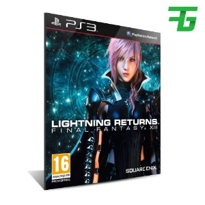 Final Fantasy Xiii 13 Lightning Returns - Mídia Digital - Playstation 3