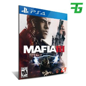 MAFIA III PS4 - MÍDIA DIGITAL