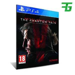METAL GEAR SOLID 5 THE PHANTOM PAIN PS4 - MÍDIA DIGITAL