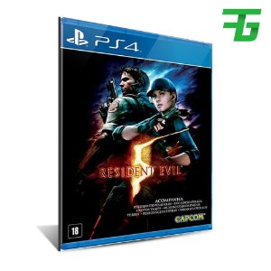 RESIDENT EVIL 5 PS4 - MÍDIA DIGITAL