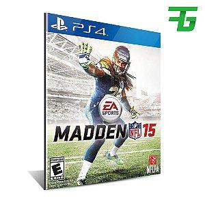 MADDEN NFL 15 PS4 - MÍDIA DIGITAL