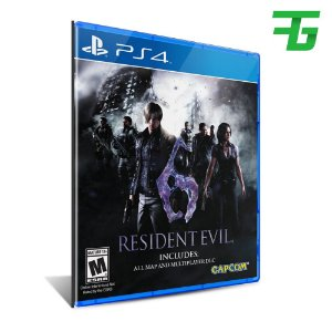 RESIDENT EVIL 6 PS4 - MÍDIA DIGITAL