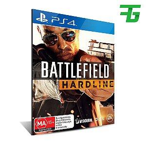 BATTLEFIELD HARDLINE PS4 - MÍDIA DIGITAL