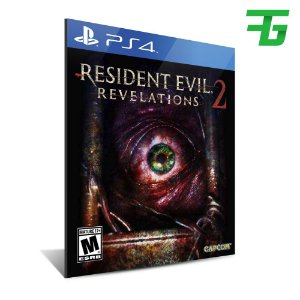 RESIDENT EVIL REVELATIONS 2 PS4 - MÍDIA DIGITAL