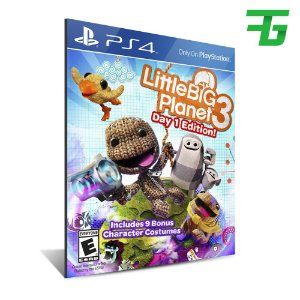 LITTLEBIGPLANET 3 PS4 - MÍDIA DIGITAL