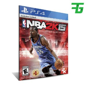 NBA 2K15 PS4 - MÍDIA DIGITAL
