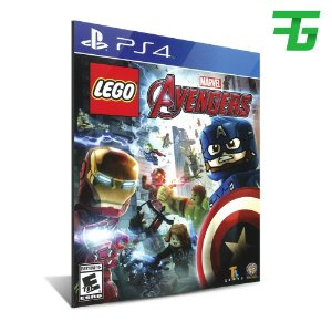 LEGO MARVEL AVENGERS PS4 - MIDIA DIGITAL