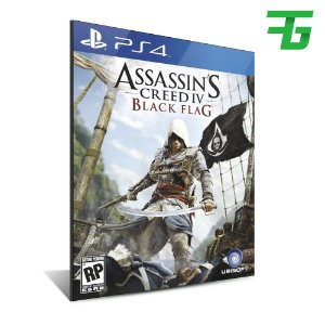 ASSASSINS CREED 4 BLACK FLAG PS4 - MÍDIA DIGITAL