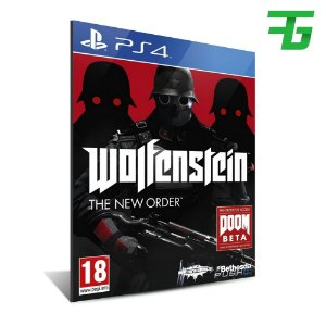 WOLFENSTEIN PS4 - MÍDIA DIGITAL