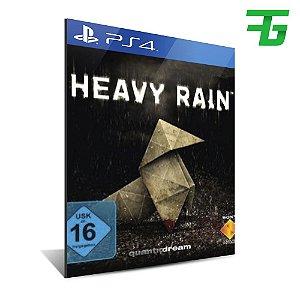 HEAVY RAIN PS4 - MÍDIA DIGITAL