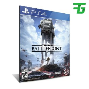 STAR WARS BATTLEFRONT PS4 - MÍDIA DIGITAL