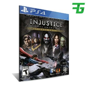 INJUSTICE GODS AMONG US ULTIMATE EDITION PS4 - MÍDIA DIGITAL