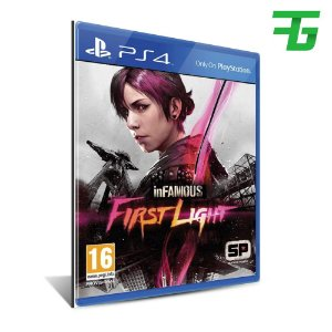 INFAMOUS FIRST LIGHT PS4 - MÍDIA DIGITAL