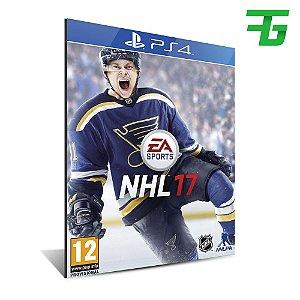 NHL 17 PS4 - MÍDIA DIGITAL