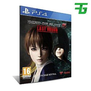 DEAD OR ALIVE 5 LAST ROUND PS4 - MÍDIA DIGITAL