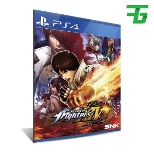 THE KING OF FIGHTERS XIV PS4 - MÍDIA DIGITAL