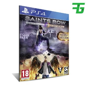 SAINTS ROW RE-ELECTED PS4 - MÍDIA DIGITAL