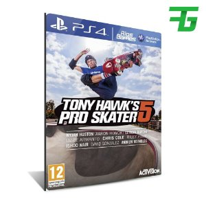 TONY HAWK PRO SKATER 5 PS4 - MÍDIA DIGITAL