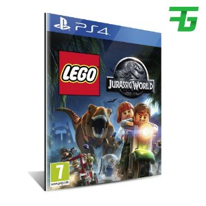 LEGO JURASSIC WORLD PS4 - MÍDIA DIGITAL