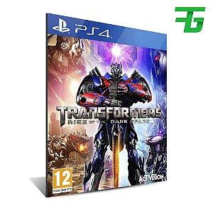 TRANSFORMERS RISE OF THE DARK SPARK PS4 - MÍDIA DIGITAL