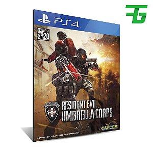 UMBRELLA CORPS DELUXE EDITION PS4 - MÍDIA DIGITAL