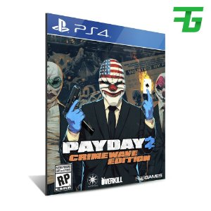 PAYDAY 2 CRIMEWAVE EDITION PS4 - MÍDIA DIGITAL