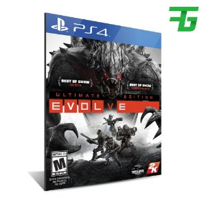 EVOLVE ULTIMATE EDITION PS4 - MÍDIA DIGITAL
