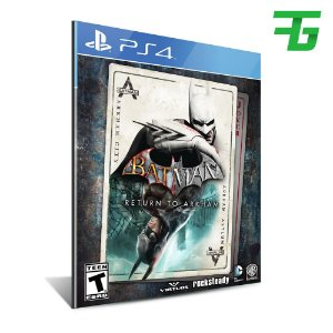 BATMAN: RETURN TO ARKHAM PS4 - MÍDIA DIGITAL