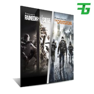 TOM CLANCY'S THE DIVISION AND RAINBOW SIX SIEGE BUNDLE PS4 - MÍDIA DIGITAL