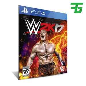 WWE 2K17 PS4 - MÍDIA DIGITAL
