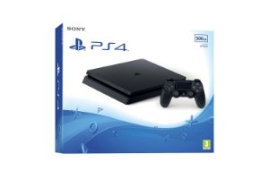 Console Sony Ps4 Slim 1TB + Nf + Envio Todo brasil!