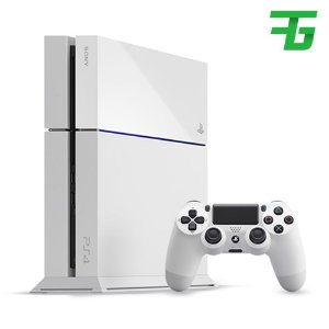 Console sony playstation-4 slim branco 500gb americano