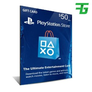 PLAYSTATION NETWORK CARD CARTÃO PSN CARD 50 $