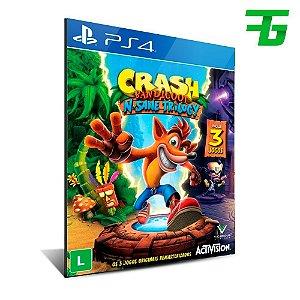Crash Bandicoot - PS4 - Mídia Digital