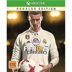 FIFA 18 Edição Ronaldo - Código 25 Dígitos - XBOX ONE